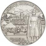 5$ 2016 Cook Islands - Geschichte der Kreuzzüge - 8th Crusade - Charles of Anjou
