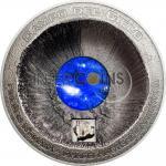 20$ 2016 Cook Islands - Meteorite - Campo del Cielo 3 oz