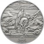 5$ 2017 Cook Islands - Geschichte der Kreuzzüge - 10th Crusade: Der letzte Kreuzfahrer