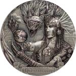 20$ 2017 Cook Islands - Gods of the World - Quetzalcoatl
