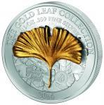 10$ 2014 Samoa - Gold Leaf Collection - Ginkgo