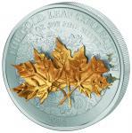 10$ 2014 Samoa - Gold Leaf Collection - Maple Leaves
