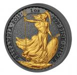 2 Pounds 2015 United Kingdom- Golden Enigma - Britannia