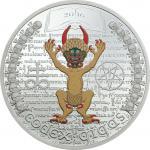 1000 Francs 2016 Equatorial Guinea - Dunkle Seite - Codex Gigas - Die Bibel des Teufels