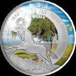 1$ 2017 Niue -  SOS for the World - Quagga