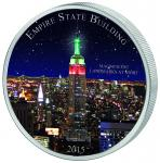 1500 Francs 2015 Kamerun - Magnificent Landmarks at Night - Empire State Building