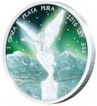Vorverkauf! 1oz  2016 Mexico - Frozen Libertad - Aurora Rhodium