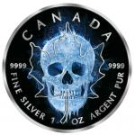 Pre-Sale! 5$ 2017 Canada - Maple Leaf - Ice Skull