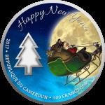500 Francs 2017 Kamerun - Magic of Christmas