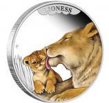 50 cents 2014 Australien - Die Liebe der Mutter - Löwen