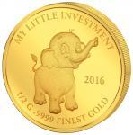 10$ 2016 Solomon Islands - Meine kleine Investition - Elefant