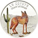 1000 Francs 2013 Niger - Canis Latrans Coyote