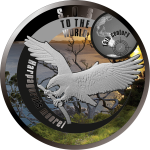 1$ 2015 Niue -  SOS for the World - Haast's Eagle