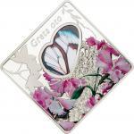 10$ 2014 Palau - Animals in Glass - Buttefly Greta Oto