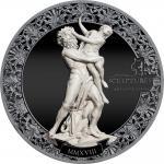 Pre-Sale! 10 $ 2018 Palau - Eternal Sculptures - Rape of Proserpina