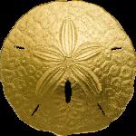 1$ 2017 Palau - Sand Dollar Au