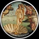500 Francs 2017 Kamerun - Stolz der europäischen Malerei - Geburt der Venus
