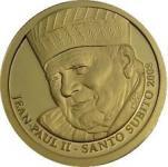 25 Francs Jan Pawel II Santo Subito 2008