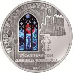 10$ 2014 Cook Islands - Fenster des Himmels mit Mondgestein - Washington National Cathedral