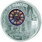 10$ 2015 Cook Islands - Fenster des Himmels - Kirche St. Nikolaus in Stockholm