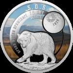 1$ 2017 Niue -  SOS for the World - Atlas Bear