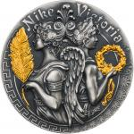 5 $ 2018 Niue Island - Starke und schöne Göttinnen - Nike und Victoria