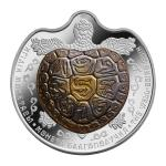 Vorverkauf! 100 Tenge 2017 Kasachstan - The Well-Being Coin - Turtle