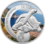 1$ 2016 Niue -  SOS for the World - Pinta-Riesenschildkröte