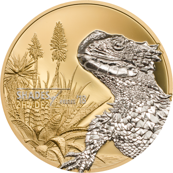 Vorverkauf! 5$ 2018 Cook Islands - Shades of Nature - Lizard