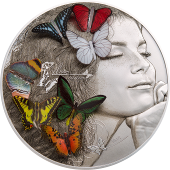 Vorverkauf! 20 $ 2018 Palau - Exotic Butterflies Dream Edition
