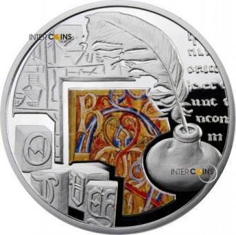 1 $ 2011 Niue Island - Die Schrift