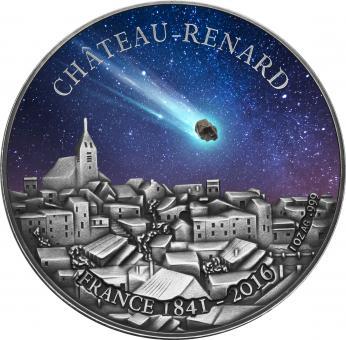 1000 Francs 2016 Burkina Faso - Chateau Renard - French Meteorit