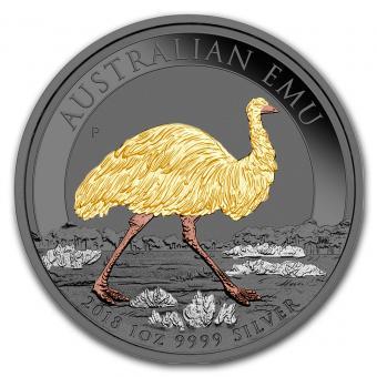 1$ 2018 Australia - Precious Australian Beauties - Emu