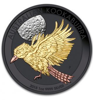 1$ 2018 Australia - Precious Australian Beauties - Kookaburra