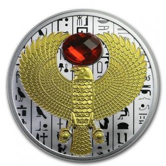5$ 2020 Niue - Symbol of Ancient Egypt - Falcon
