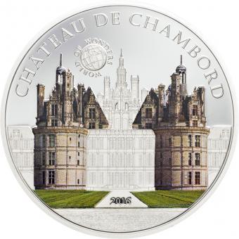 5 $ 2016 Palau - Wunder der Welt - Château de Chambord