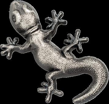10 $ 2018 Palau - Gecko
