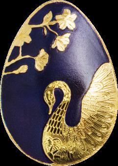 1 $ Palau - Goldenes  Schwan Ei