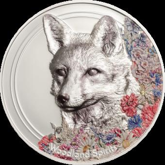 500 Togrog 2018 Mongolei - Woodland Spirits - Fuchs