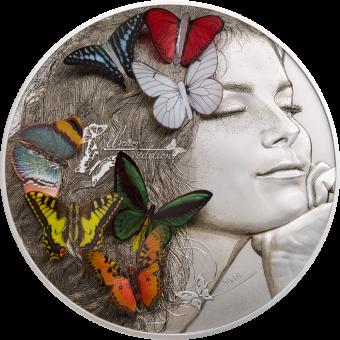 20 $ 2018 Palau - Exotic Butterflies Dream Edition