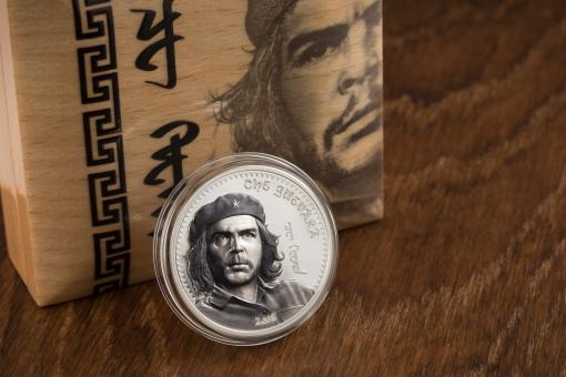 1000 Togrog 2018 Mongolia - Che Guevara Ag koloriert