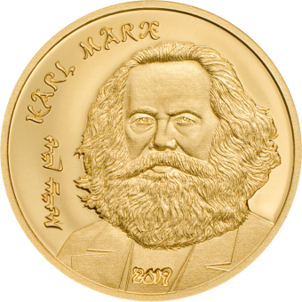 1000 Togrog 2019 Mongolia - Karl Marx