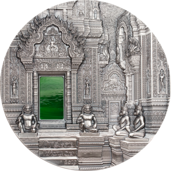 50 $ 2019 Palau - Tiffany Art Angkor 1kg