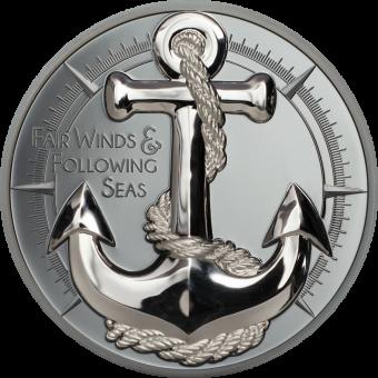 10 $ 2019 Cook Islands - Fair Winds - Anker