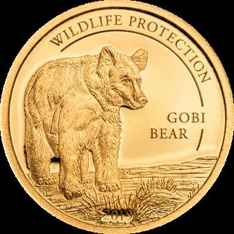 1000 Togrog 2019 Mongolei - Wildlife Protection - Gobi Bär - Au
