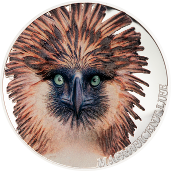 5$ 2019 Cook Islands - Magnificent Life -Philippine Eagle