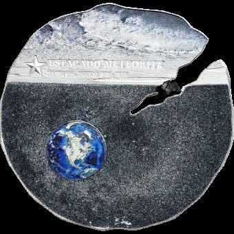 2 $ 2019 Cook Islands - ESTACADO Meteorit Meteorite Impacts