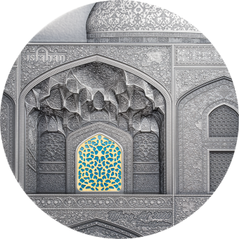 50$ 2020 Palau - Tiffany Art - Isfahan