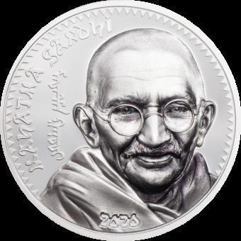 1000 Togrog 2020 Mongolia - Mahatma Gandhi