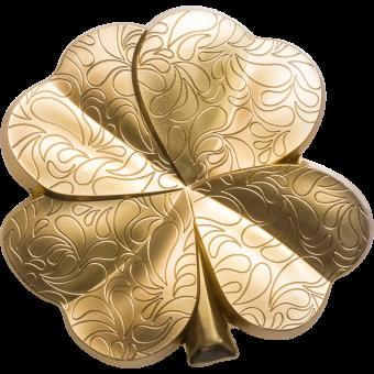 5$ 2020 Palau - Vergoldetes Glück - Kleeblatt
